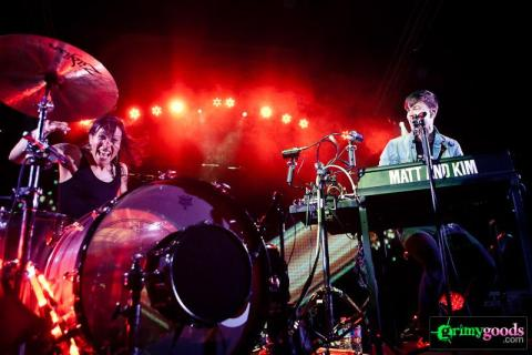 Matt and Kim with Papa at the Observatory – Photos Review