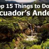 Top 15 Things to Do in Ecuador: Andes Mountains