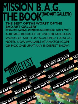 2014 SF Indiefest Bad Art Gallery Book Ad