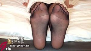 T167cm足指舐められ好き美脚痴女 足裏くすぐり&脚責め全身タイツと黒パンストフェチの宴/橘メアリー