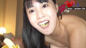 変態美女のお口フェチ個人撮影 ネバ唾顔舐めと咀嚼口移し/月野ゆりあ