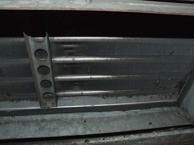 Dirty-condenser-coil