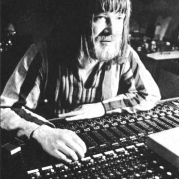 Conny Plank at his famous desk
