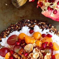 Fruity Breakfast Pizza + Granola Crust
