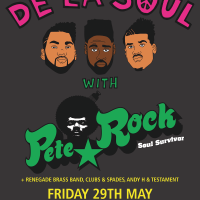 Sheffield: De La Soul, Pete Rock, Renegade Brass Band