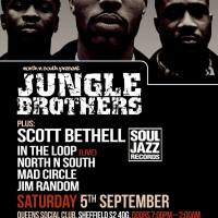 Sep 5th - 9th: Jurassic 5, Oddisee and Jungle Brothers / Manchester & Sheffield