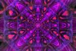 Indigo Star Pattern