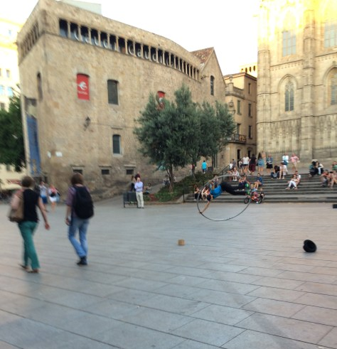 Lost and Found at the Barcelona Cathedral