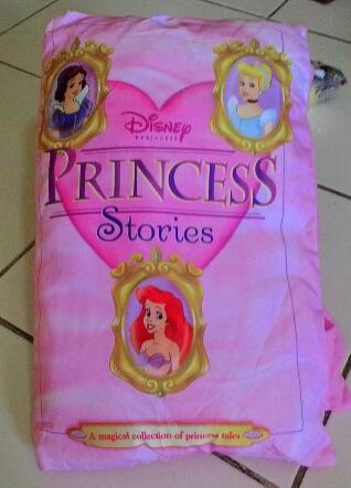 Story pillow book princess