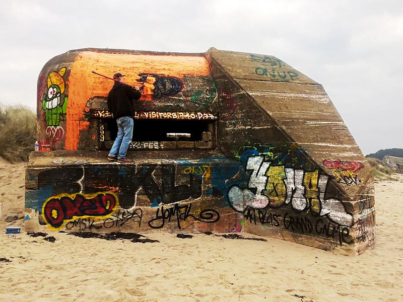 Fresque Blockhaus 2016