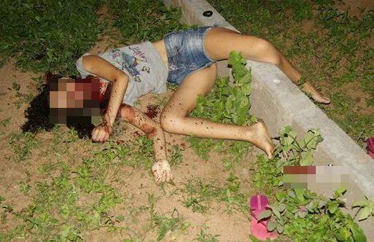 【グロ画像】首を切り裂かれ死亡した15歳の少女