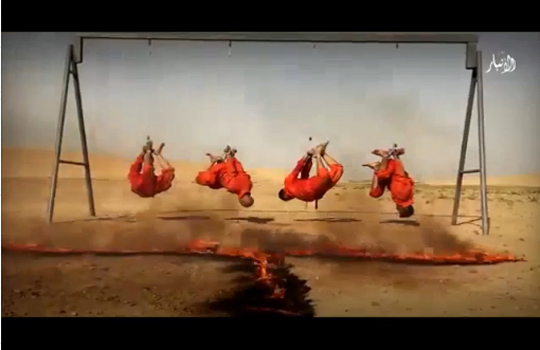 【超絶グロ】ISIS最新の処刑法方が今まででダントツにグロい件・・・
