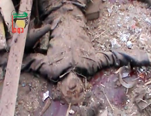 【グロ注意】シリアの街中を歩いてたら死体のほうが多いんだが・・・ 動画有り