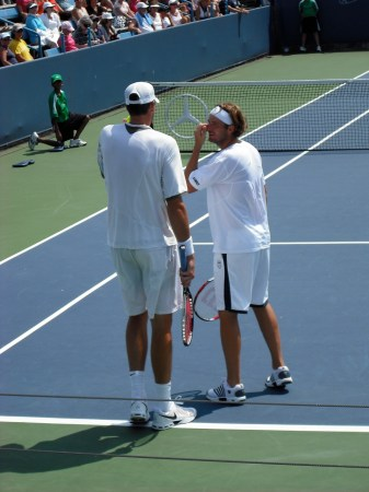 John Isner & Mardy Fish Strategize