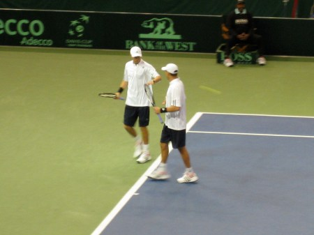 Bryan Brothers @ Davis Cup 2007