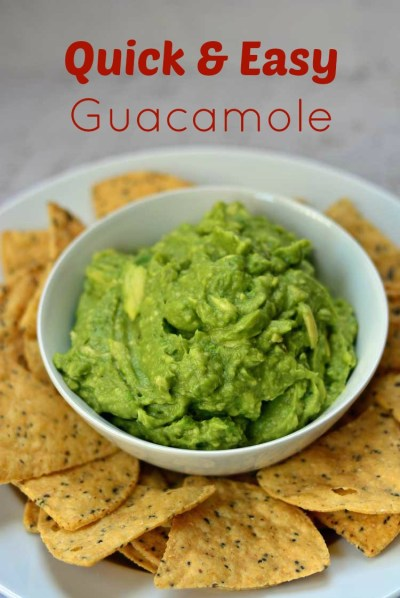 Easy Guacamole Recipe