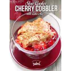 Small Crop Of Easy Cherry Cobbler
