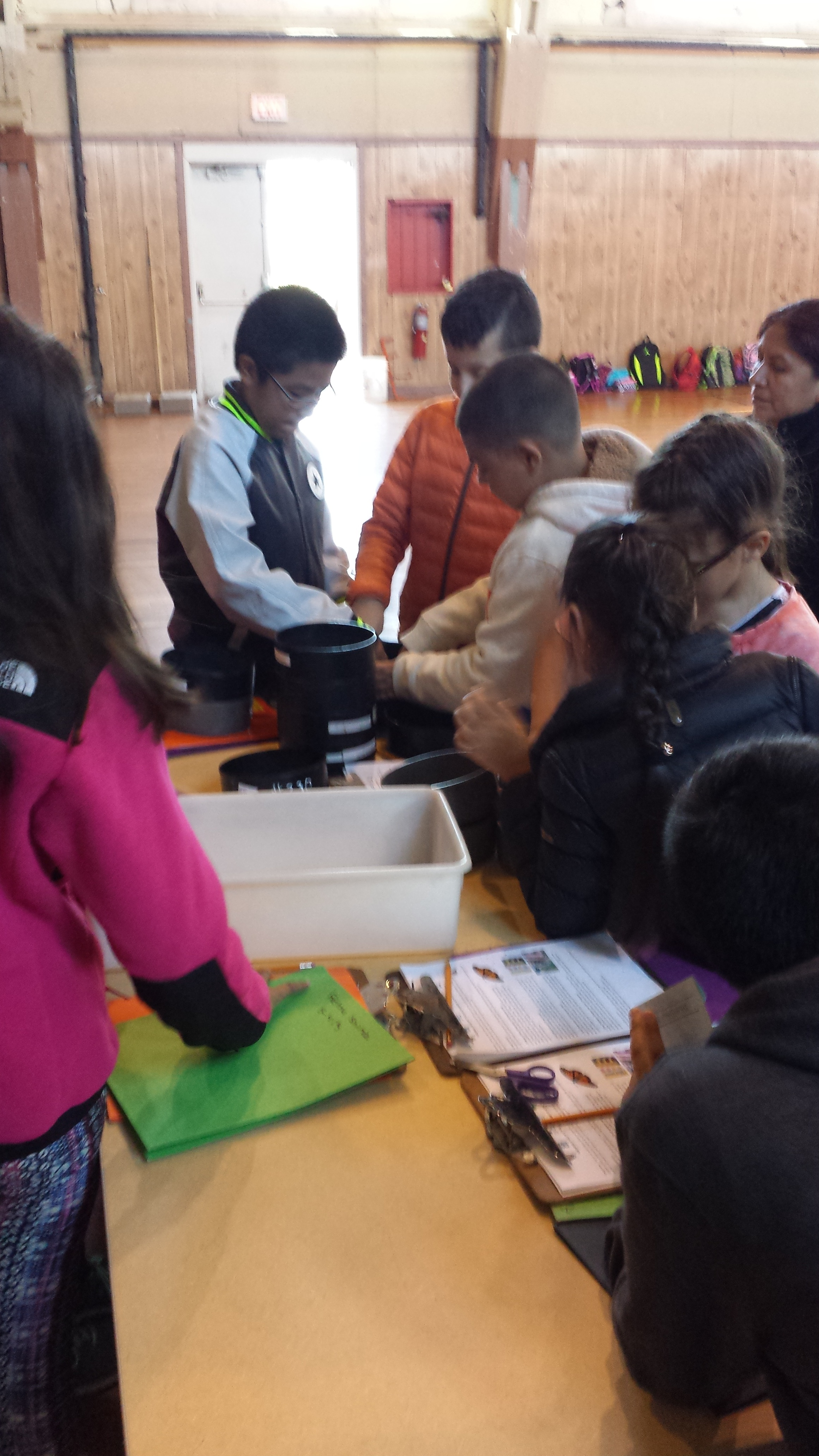 20151016_Seed cleaning_PS 197_grade 5