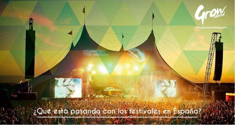 festivales españa problemas