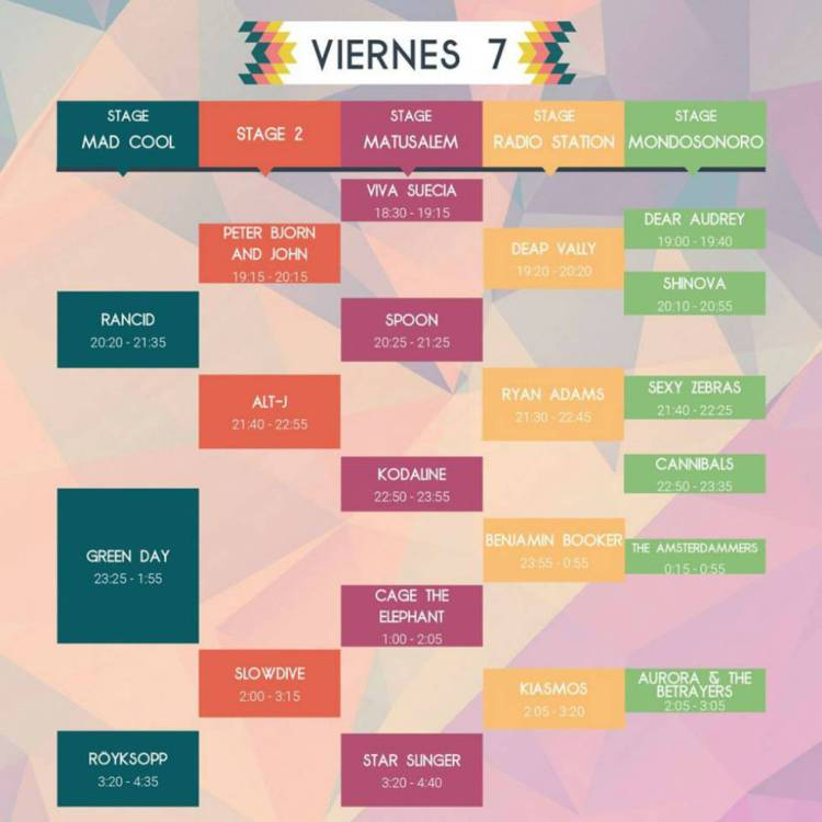Viernes - Mad Cool 2017
