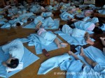 Sleeping at a Jjimjilbang (a Korean bathhouse &amp; sauna)