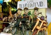 hanoi, vietnamese water puppet dolls