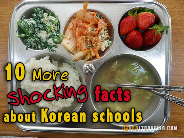 10 more shocking facts about korean schools, teaching in Korea, teaching at EPIK Korea, 10 shocking facts about korean schools