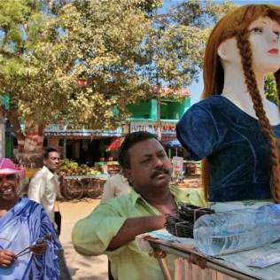 Hampi hair accessories seller