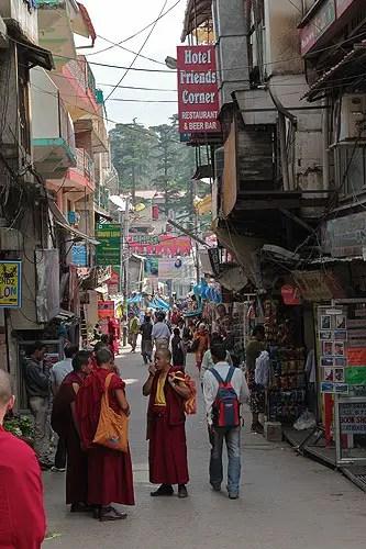 Streets of Mcleodganj, dharamsala