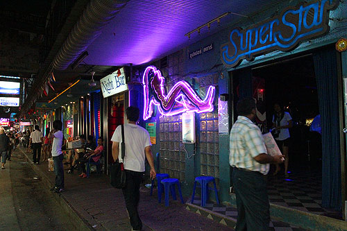 patpong strip of bars, bangkok-bars, bangkok bars, patpong sex bars
