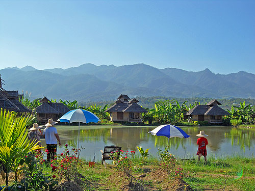 fishing lake in pai