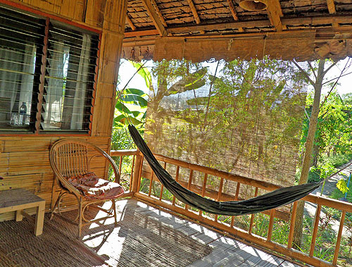 thai bungalow hammock