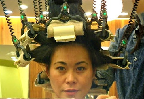 grrrltraveler magic volume in Korea, getting your hair done in Korea