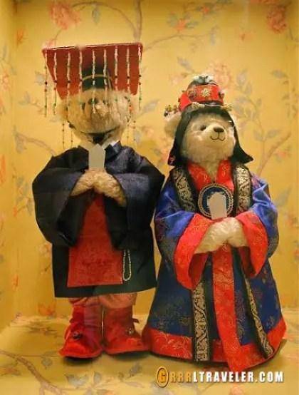 jeju island teddy bear museum, teddy bear museums in korea, teddy bear museum gung korean drama