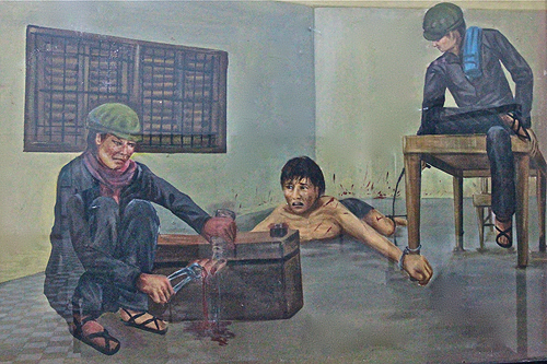 paintings of torture