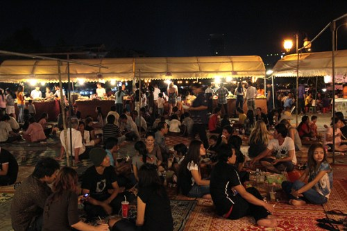 nightmarket phnom penh