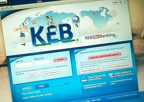 keb mac online app
