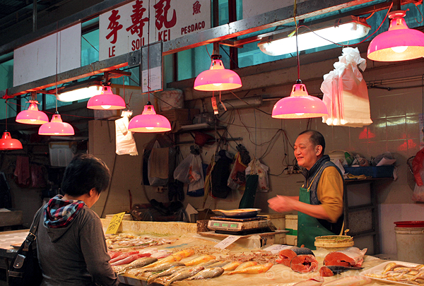 macanese fish market, macanese culture