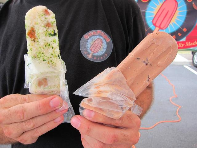 spam musubi ice pops, spam jam event, interesting spam recipes