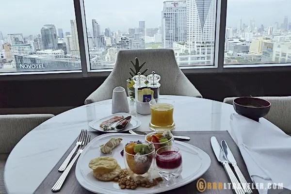 Amari hotel, executive dining at the Amari Watergate Bangkok