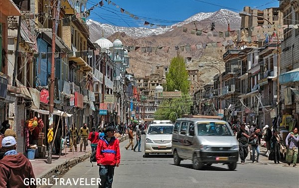 leh town ladakh