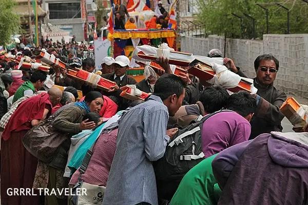 tibetan buddhism parade ladakh, buddhas birthday ladakh, ladakh-day-trip, ladakh guide, 8 must see reasons to go to ladakh, experience heaven at ladakh india