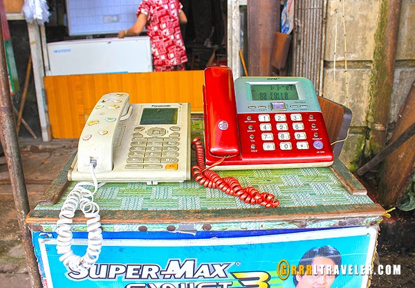telephones in myanmar, call booths