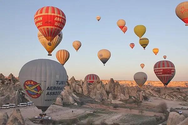 cappadocia balloon launches