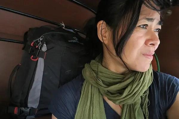 Varanasi, India: Taking a rickshaw tax to the airport