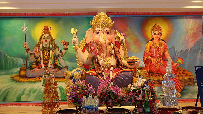 chiang dao hindu temple, chiang dao temples