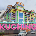 kuching sarawak, shopping in kuching sarawak, shopping in malaysian borneo, shopping in kuching,