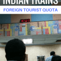 indian trains, getting a foreign tourist quota