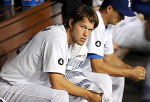 Clayton Kershaw disapproves of  this Esurance Final Vote nonsense.