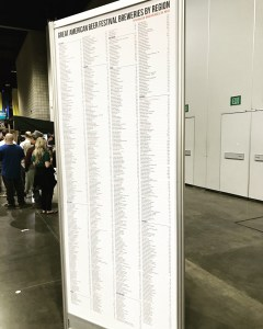 There are a few breweries at GABF